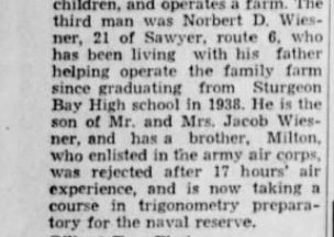 Green Bay Gazette 18 March 1942 page 12