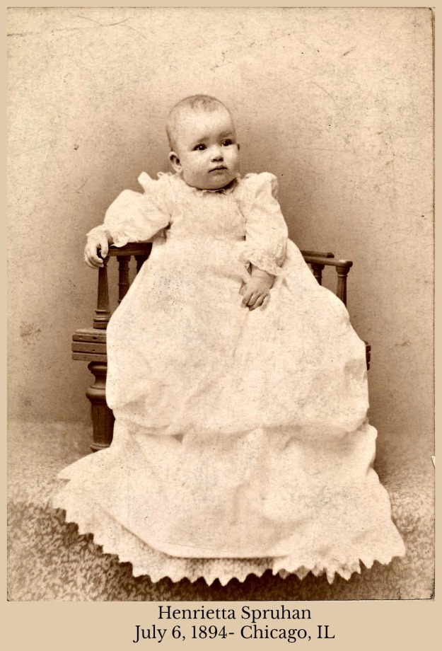 Henrietta Spruhan July 6, 1894