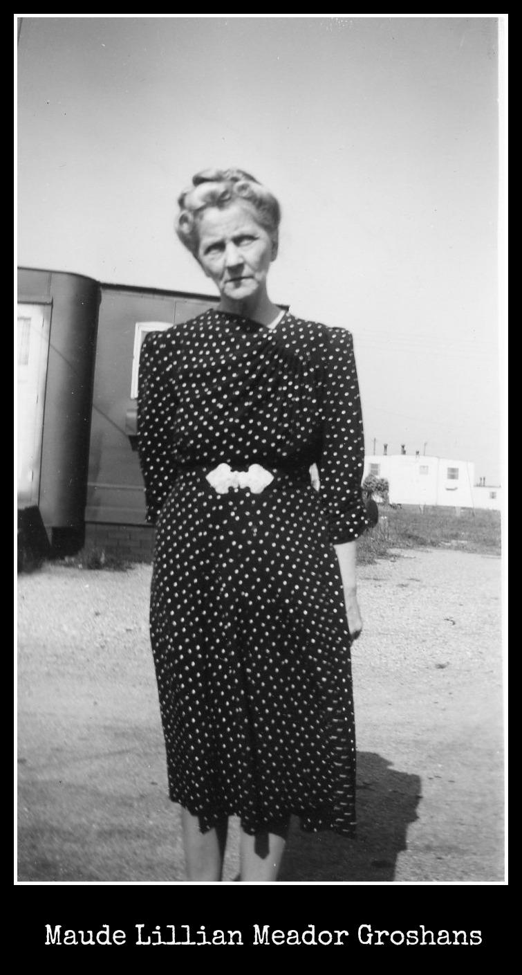 Maude Lillian Meador Groshans