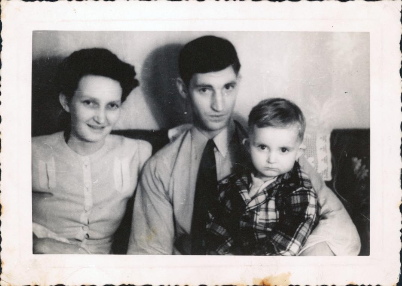 Norbert, Joyce and Eugene Wiesner