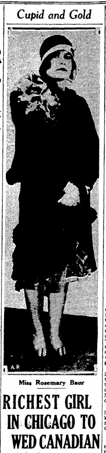 Rosemary Baur from San Francisco Chronicle May 14, 1931.png