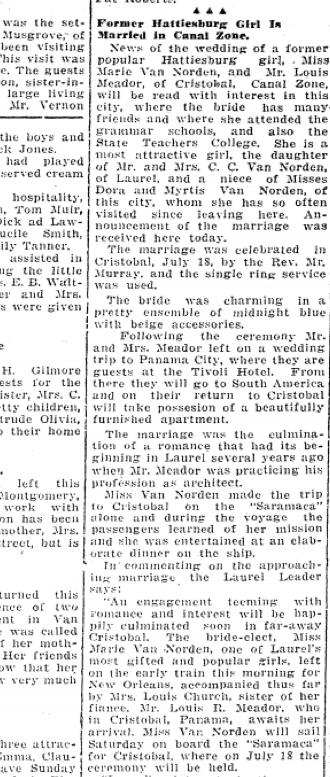 July 27 1929 Hattiesburg American part 1