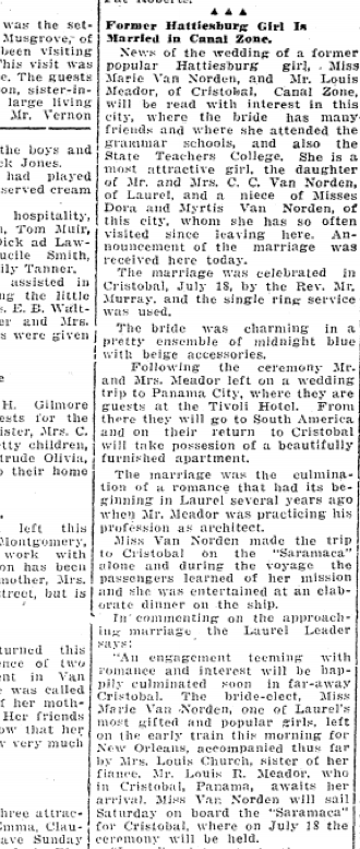 July 27 1929 Hattiesburg American part 1
