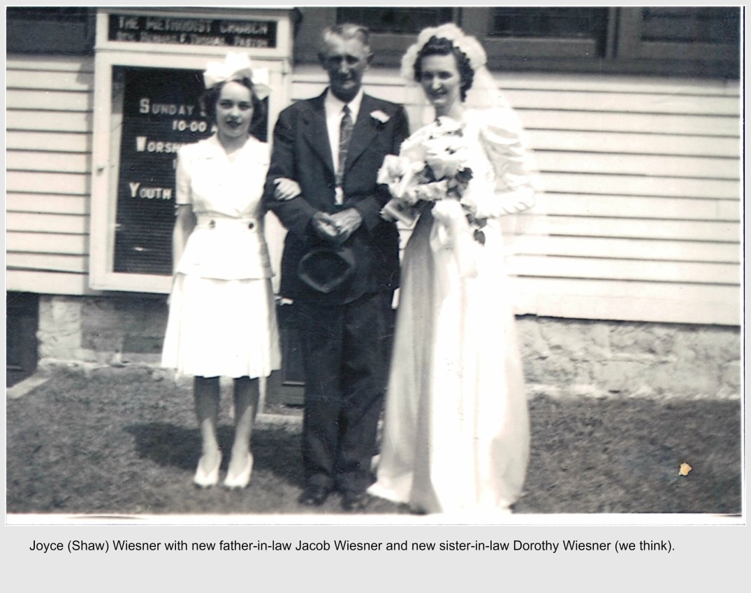 Jacob Wiesner, Jr with Joyce and Dorothy