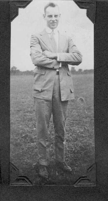 Geoge Hess Sr. with arms crossed