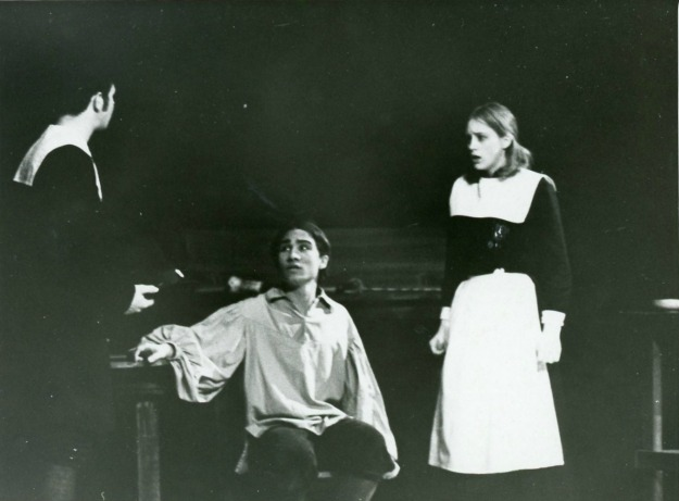 Linda Claire Hess with Jim Greiner in the Crucible