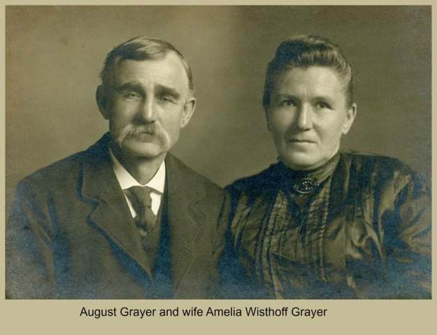 August and Amelia Grayer portrait