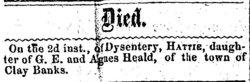 Hattie Heald death