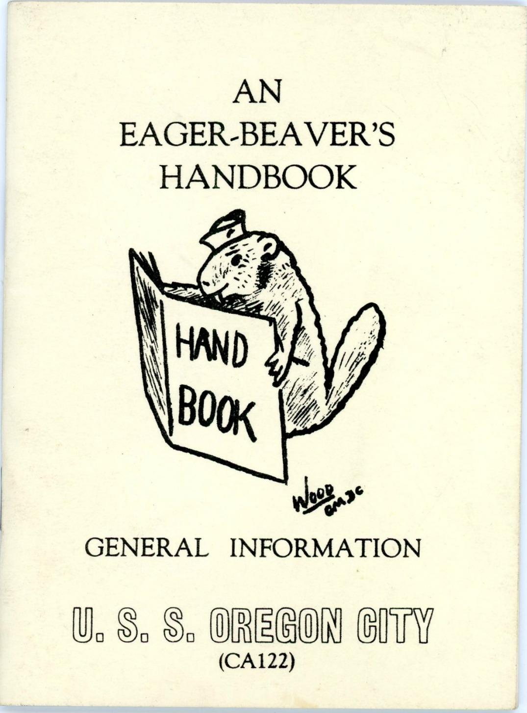 001 USS Oregon City Eager Beaver's Handbook