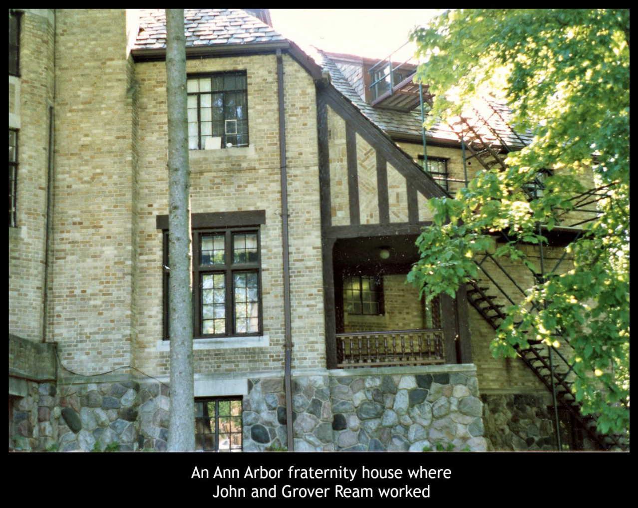 Ann Arbor Fraternity house