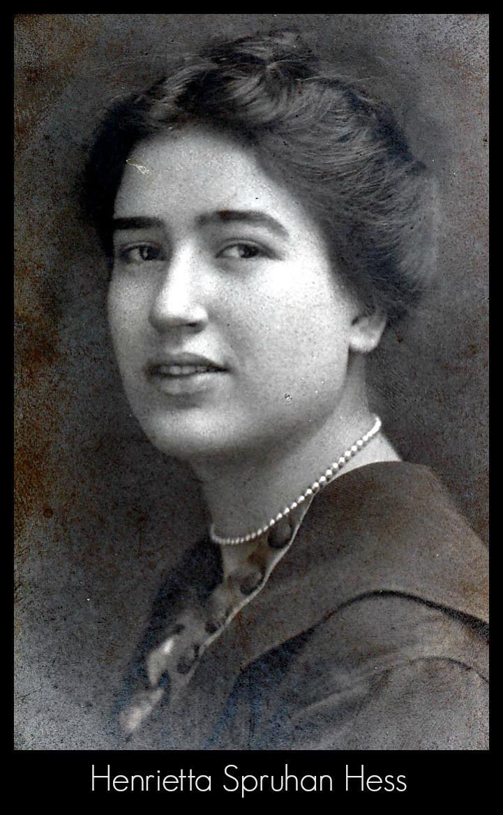 Henrietta Spruhan Hess photo from James Hess