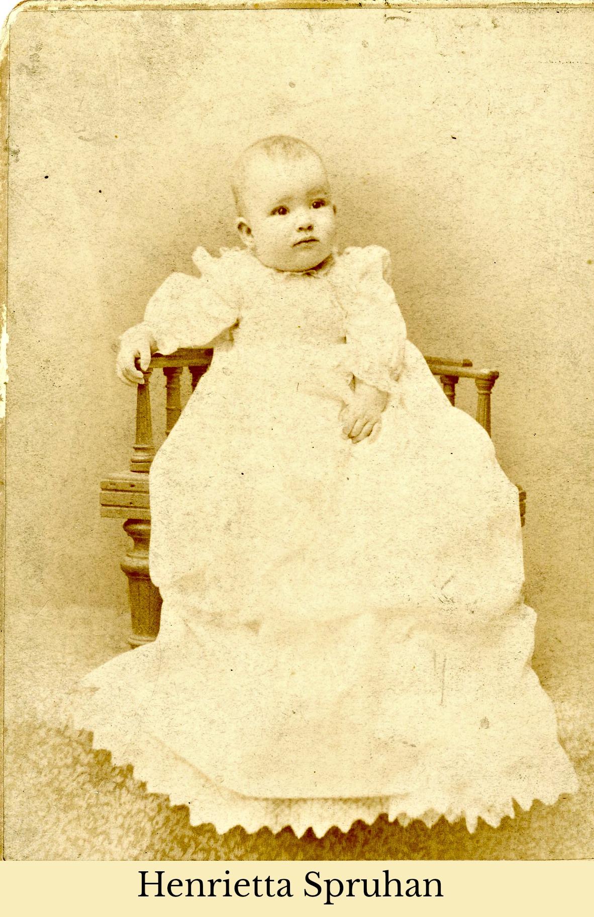 Henrietta Spruhan infant