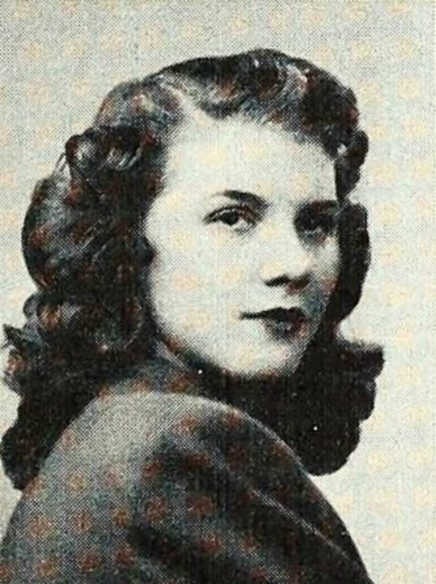 Sonja Thronbladh Euclid Central HS 1947