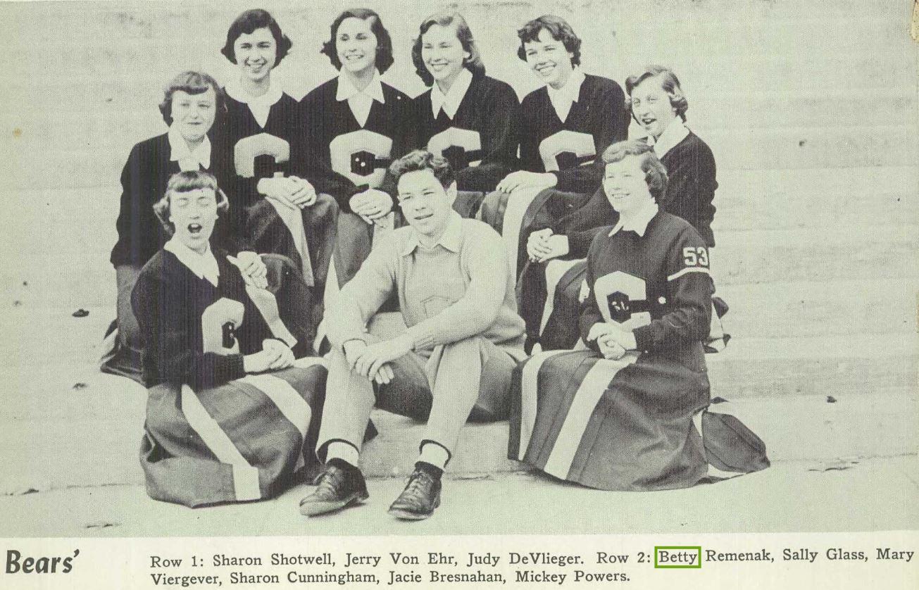 Creston High School 1953 yearbook