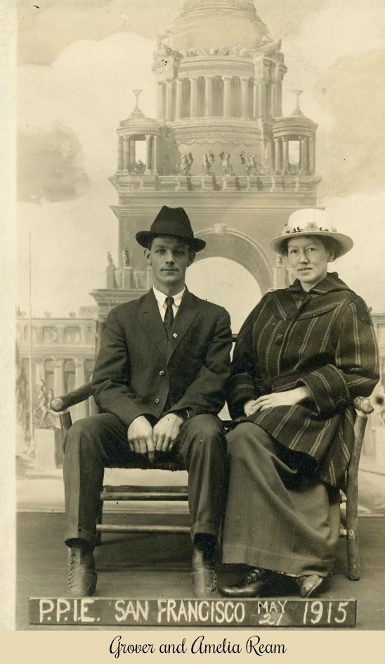Grover and Amelia Ream 1915