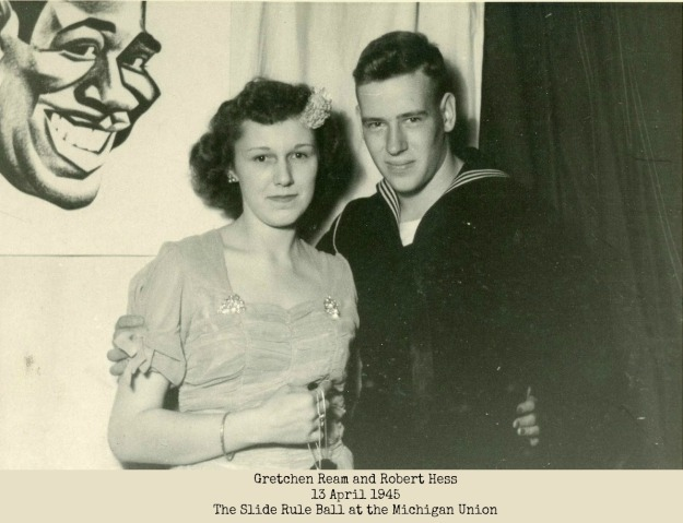 Senior Ball 1945 Robert and Gretchen Hess (1)