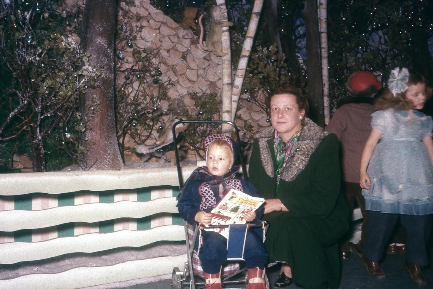 Linda with Madalyn Klotz at the Rotunda