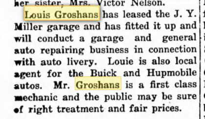 04 March 1915 Louis Groshans Minot, ND