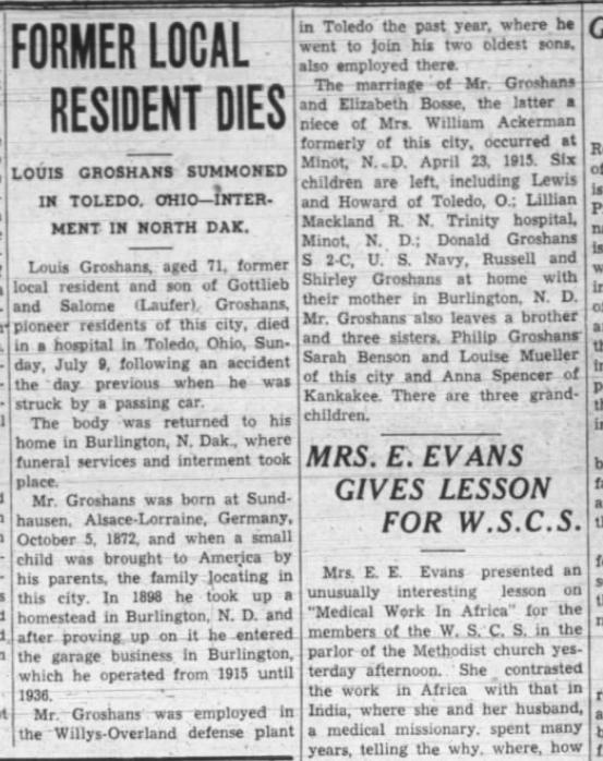 20 Jul 1944 The Times, Streator IL