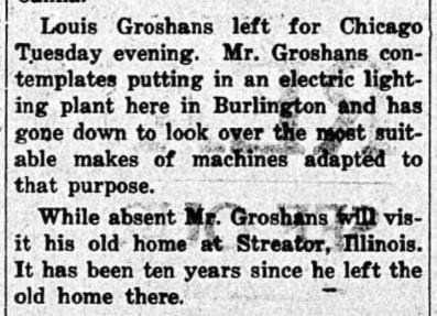 24 Dec. 1914 Louis Groshans Minot, ND