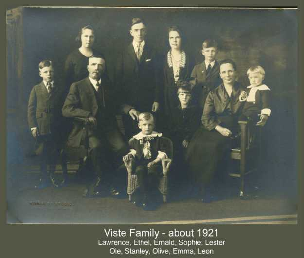 Viste Family about 1921